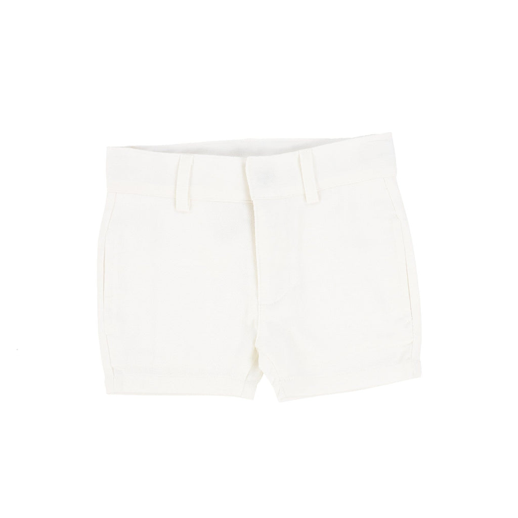 Analogie by Lil Legs shorts Jellybeanzkids Analogie by Lil Legs White Dress Shorts