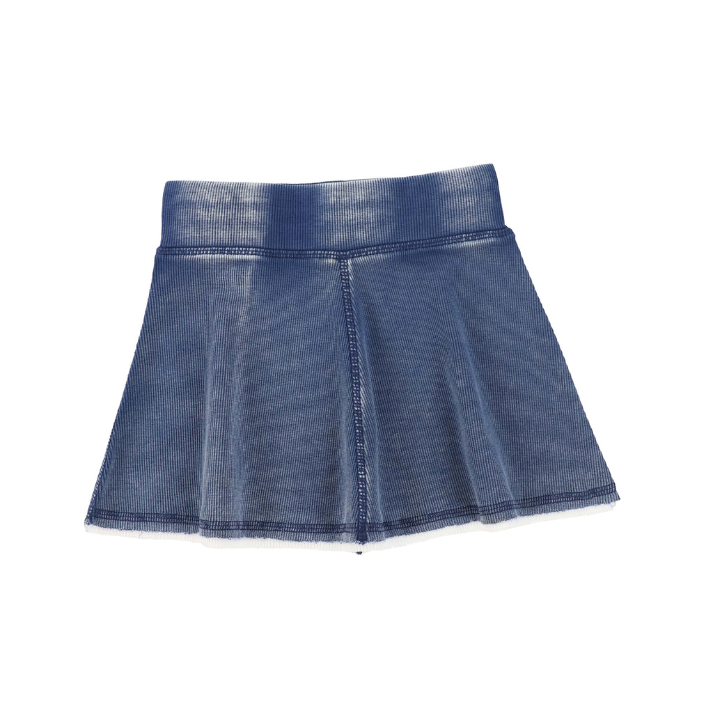 Analogie by Lil Legs Skirt Jellybeanzkids Analogie Blue Wash Skirt