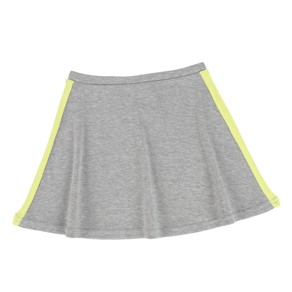 Analogie by Lil Legs Skirt Jellybeanzkids Analogie Grey/Neon Linear Skirt