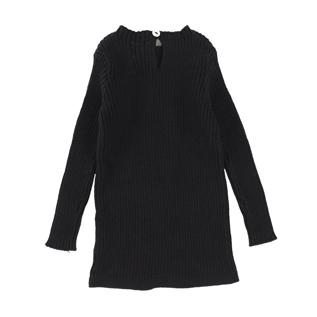 Analogie by Lil Legs Sweater Jellybeanzkids Analogie by Lil Legs Black Long Sleeve Knit Sweater