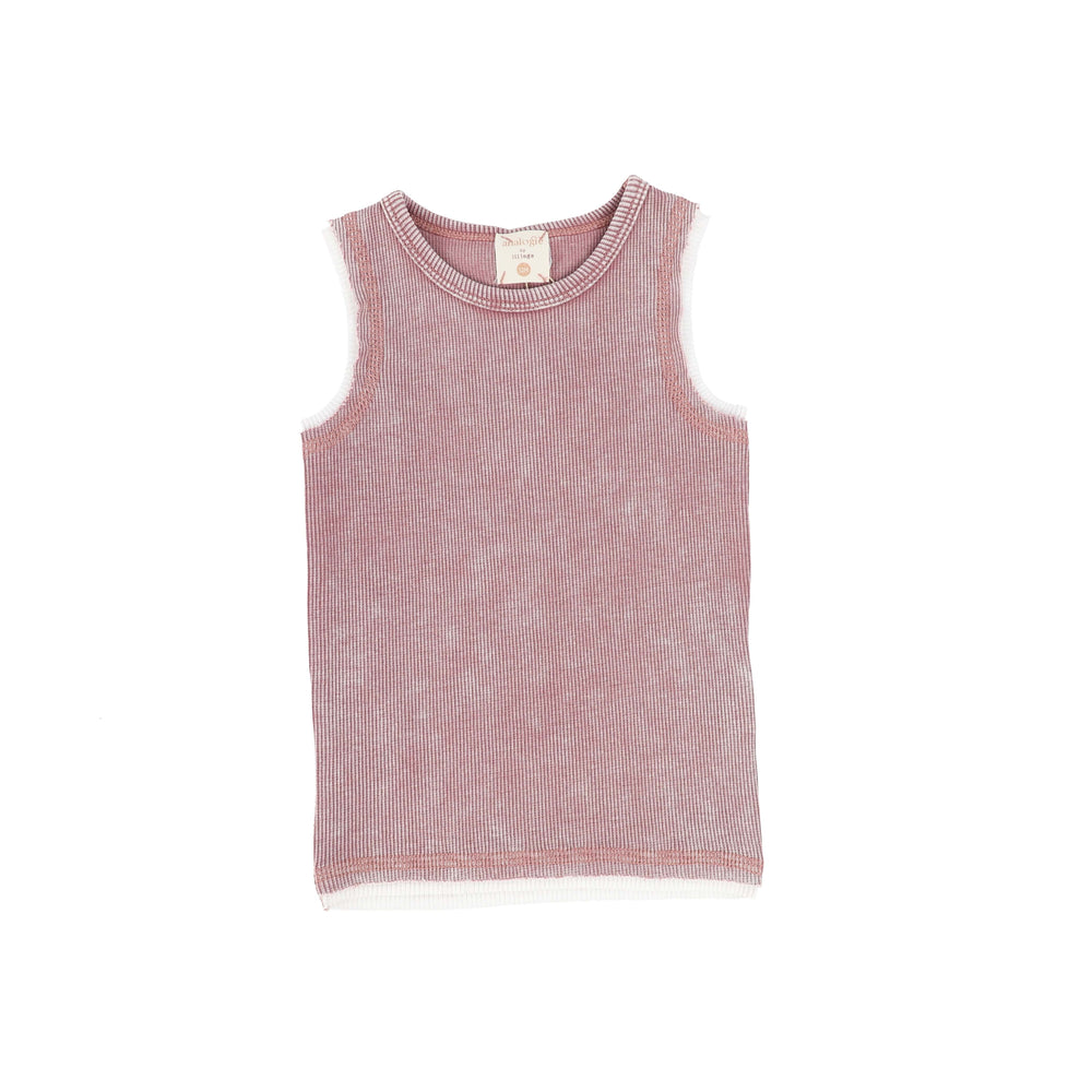 Analogie by Lil Legs Tank Top Jellybeanzkids Analogie Pink Wash Tank