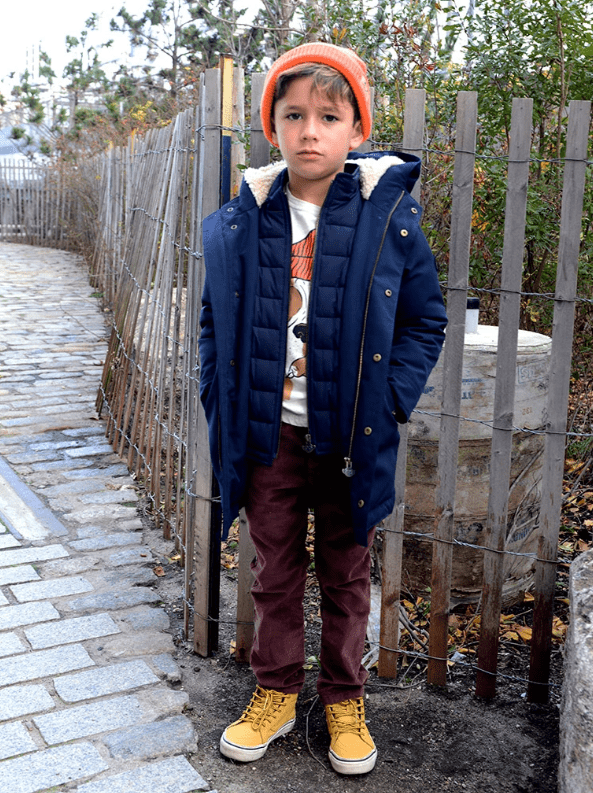 Appaman Coat Jellybeanzkids Appaman Dark Navy Himalaya Down Coat