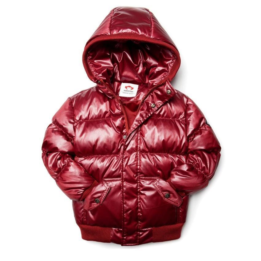 Appaman Appaman Red Sparkle Puffer Coat  JellyBeanz Kids