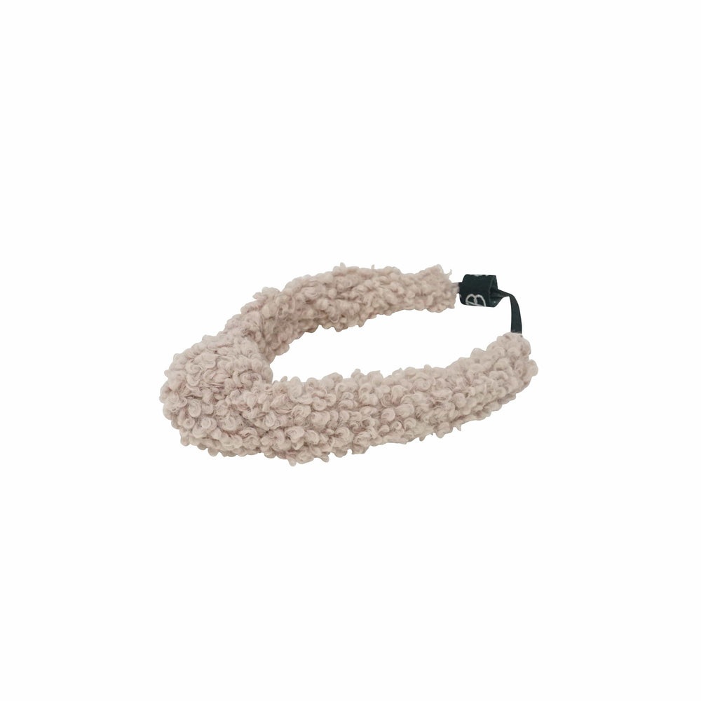 Bandeau Accessories Jellybeanzkids Bandeau Blush Shearlilng Knot Baby Band
