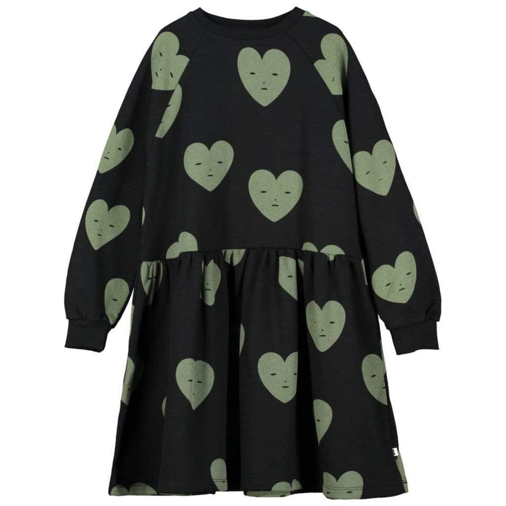 Beau Loves Beau Loves Hearts Dress  JellyBeanz Kids