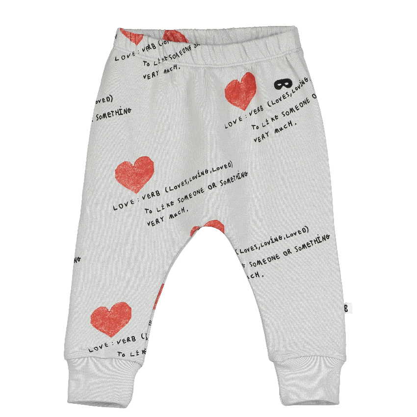 "Beau Loves Beau Loves ""Love Forever"" Sweatpants  JellyBeanz Kids"