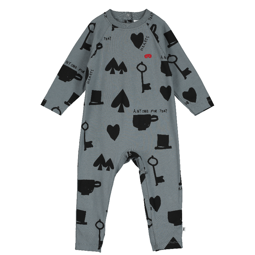 Beau Loves Beau Loves Wonderland Romper  JellyBeanz Kids