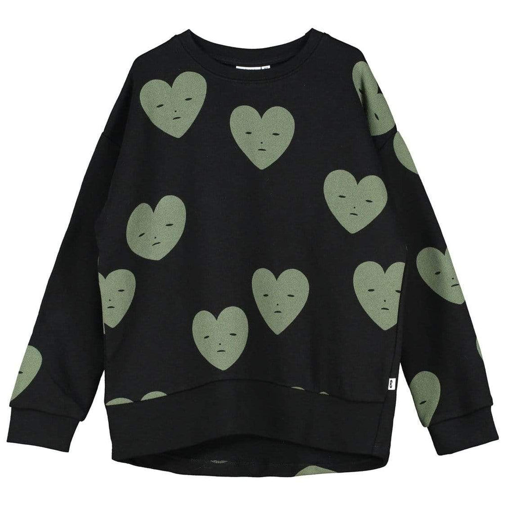 Beau Loves Beau Loves Hearts Sweatshirt  JellyBeanz Kids