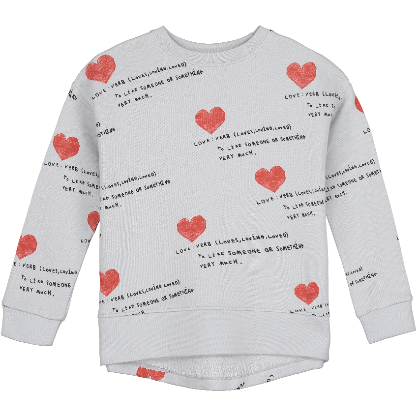 "Beau Loves Beau Loves ""I Heart You"" Sweatshirt  JellyBeanz Kids"