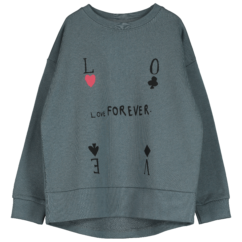"Beau Loves Beau Loves ""Love Forever"" Sweatshirt  JellyBeanz Kids"