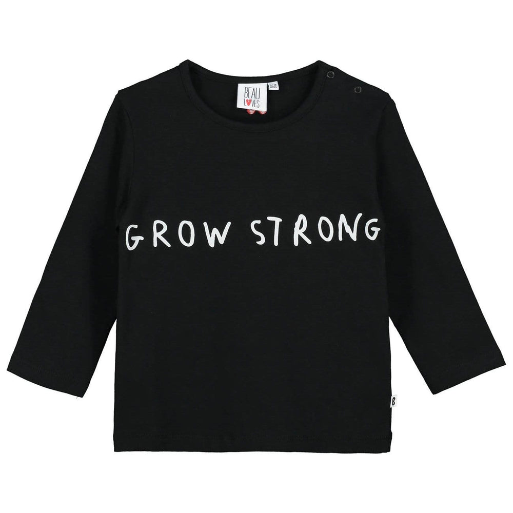 Beau Loves Beau Loves Grow Strong Tee  JellyBeanz Kids