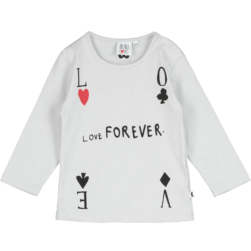 "Beau Loves Beau Loves ""Love Forever"" Tee  JellyBeanz Kids"