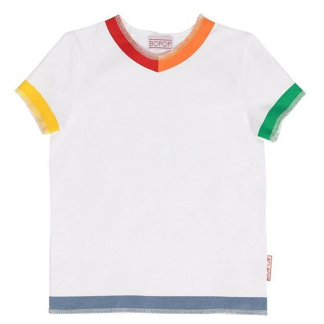 Bopop T-shirt Jellybeanzkids Bopop Color Block Tee