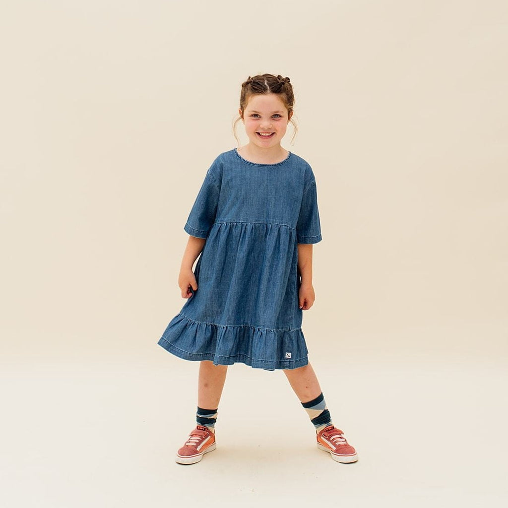 Carlijnq Dress Jellybeanzkids CarlijnQ Denim-dress