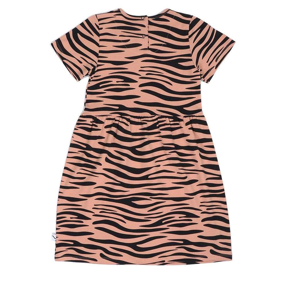 Carlijnq Carlijnq Tiger Dress  JellyBeanz Kids