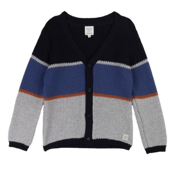 Carrement Beau Carrement Beau Colorblock Cardigan  JellyBeanz Kids