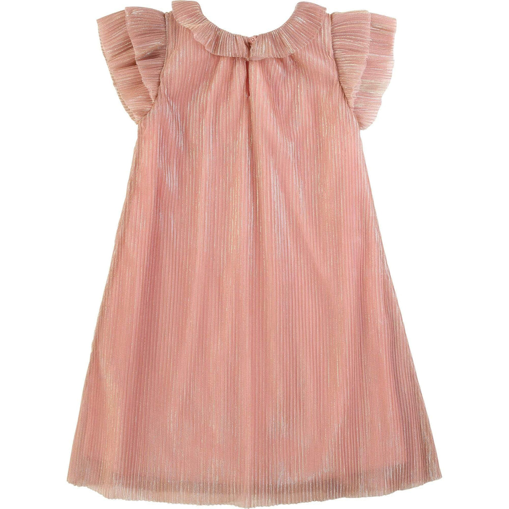 Carrement Beau Carrement Beau Mesh Shimmery Dress  JellyBeanz Kids