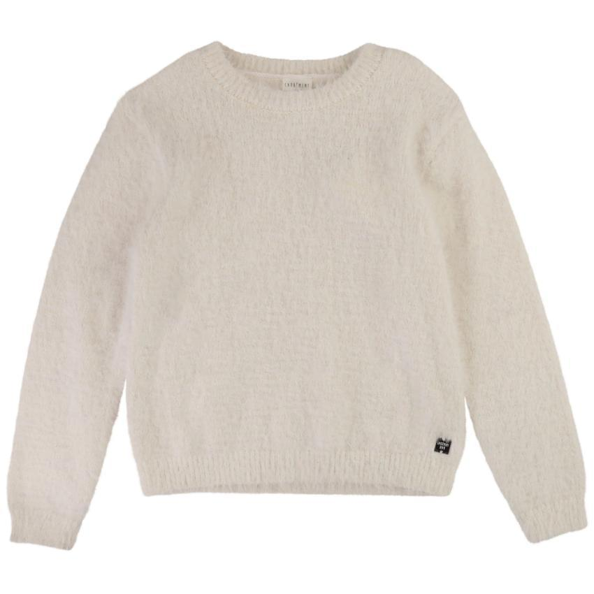 Carrement Beau Carrement Beau Knit Fuzzy Sweater  JellyBeanz Kids