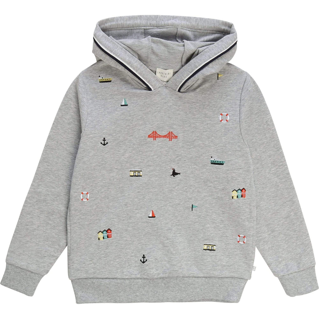 Carrement Beau Carrement Beau Hooded Sweatshirt  JellyBeanz Kids