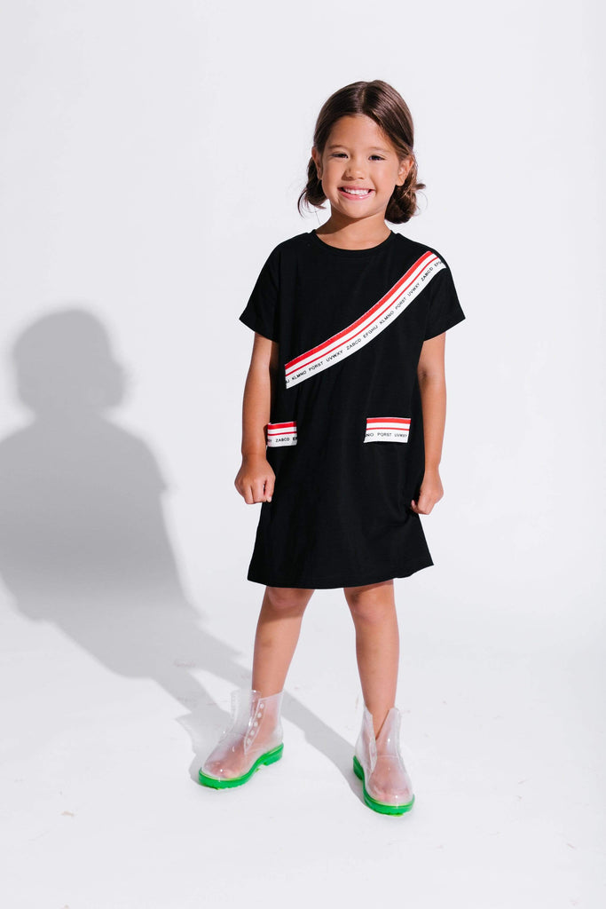 Crew Dress Jellybeanzkids Crew Elastic Band Dress