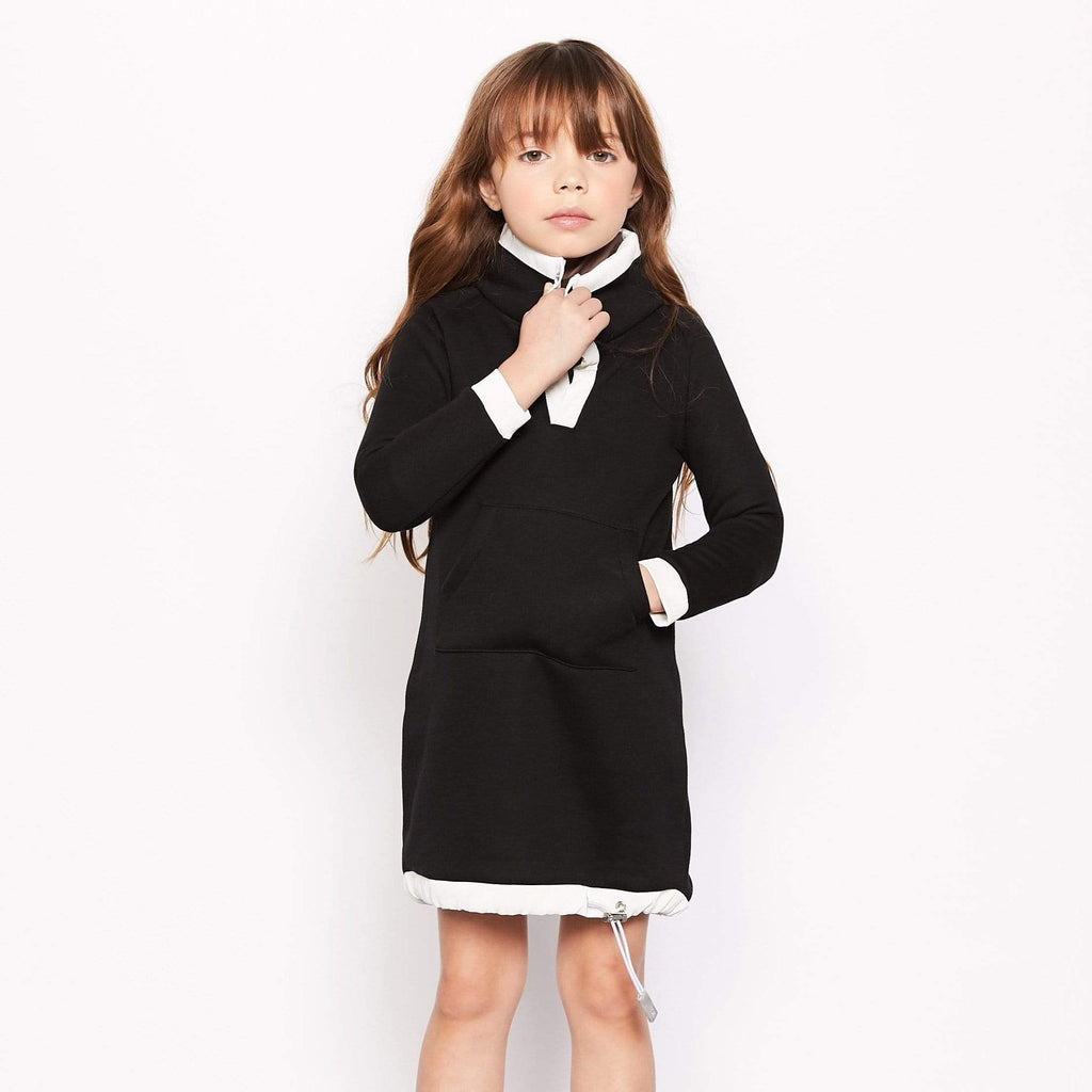 Crew Crew Fleece Dress  JellyBeanz Kids