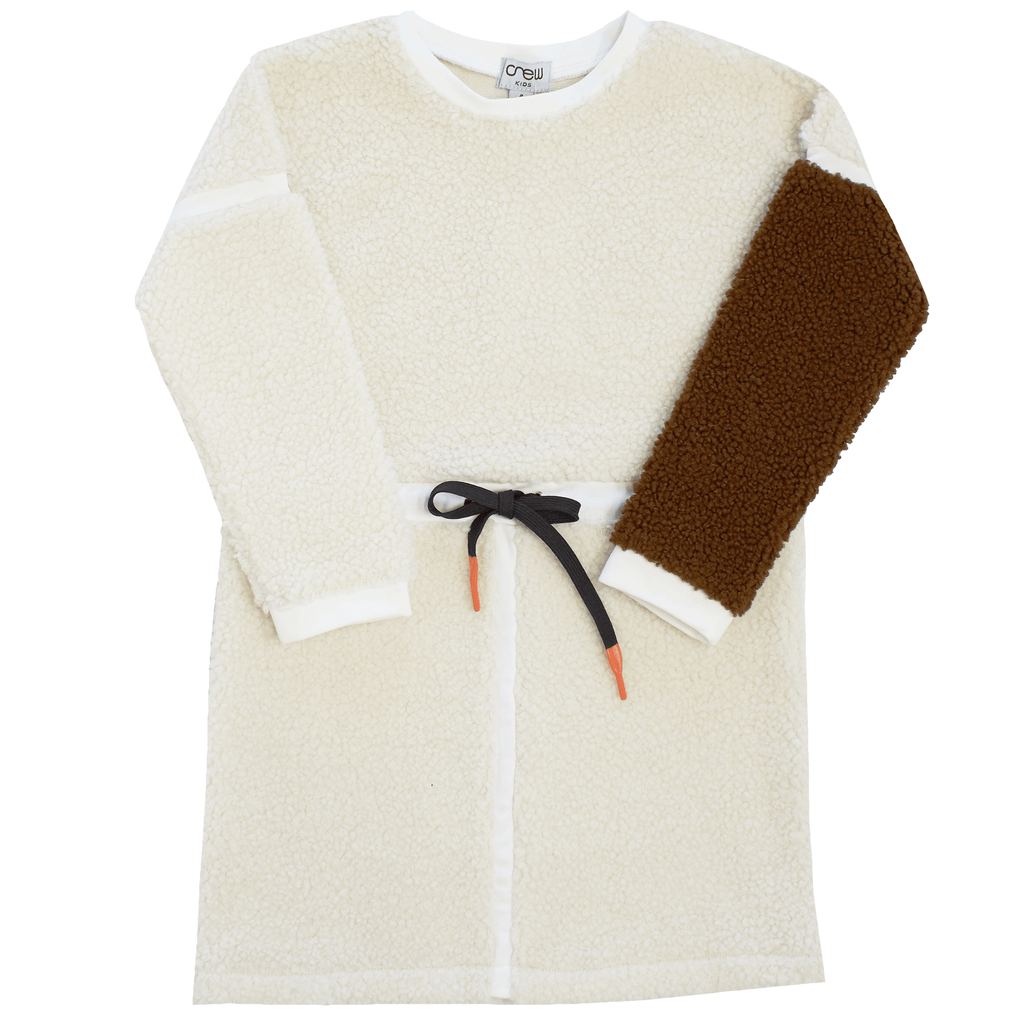 Crew Dress Jellybeanzkids Crew Sherpa Dress