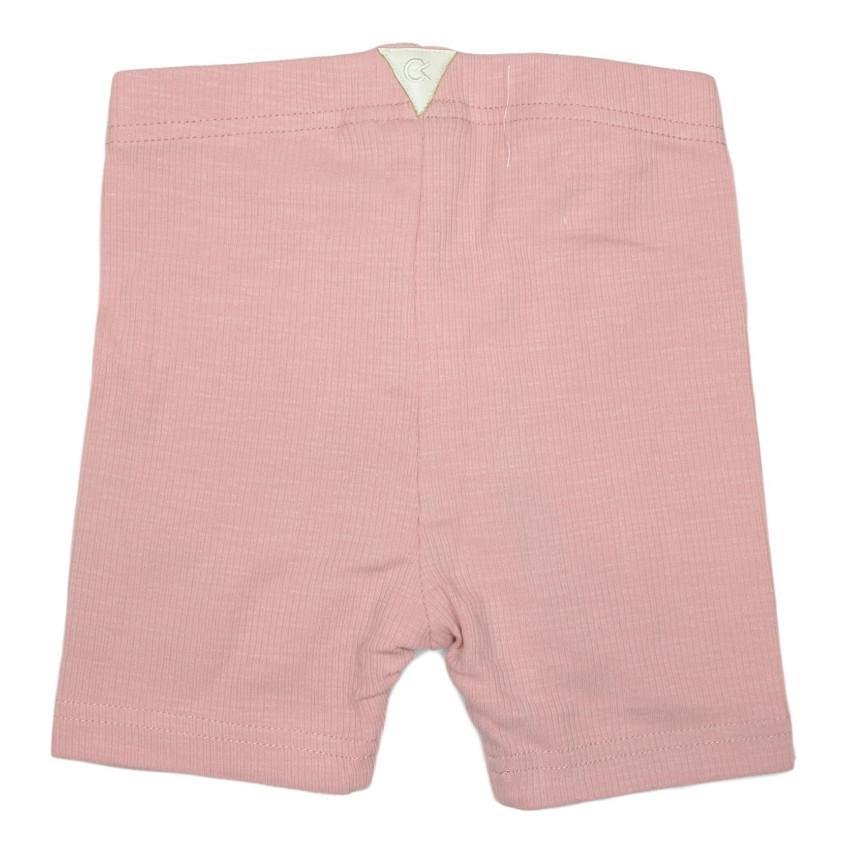 Crew Blush Ribbed Biker Short  JellyBeanz Kids