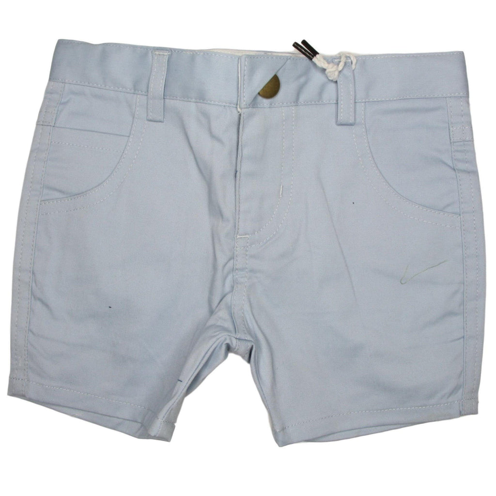 Crew Light Blue Short Chinos  JellyBeanz Kids