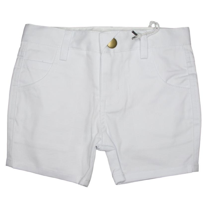 Crew White Short Chinos  JellyBeanz Kids