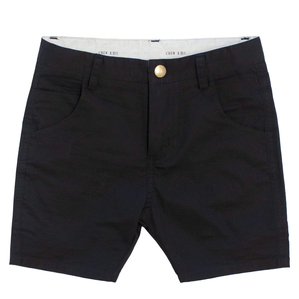 Crew shorts Jellybeanzkids Crew Short Black Chinos
