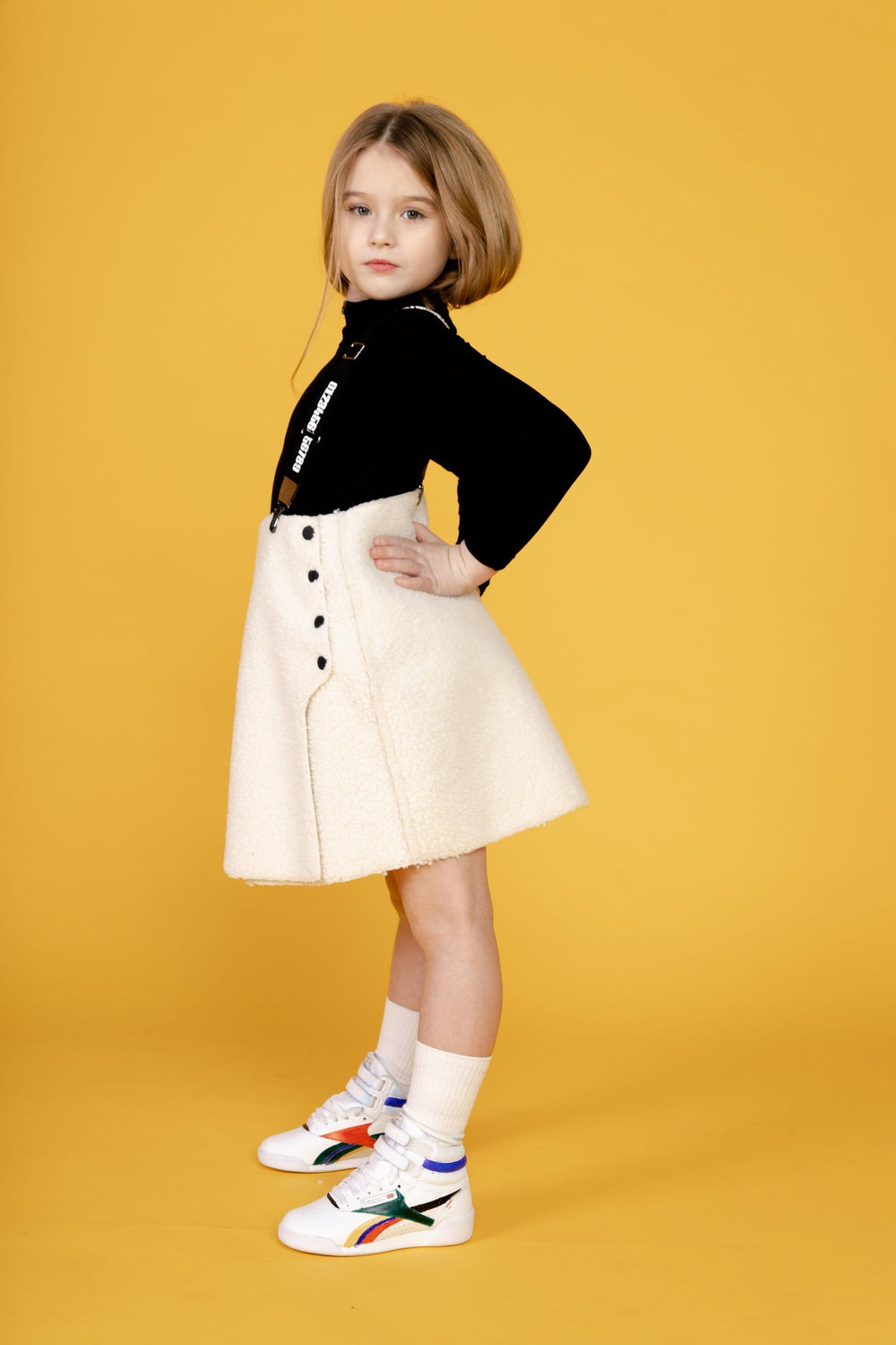 Crew Crew Suspender Wrap Skirt  JellyBeanz Kids