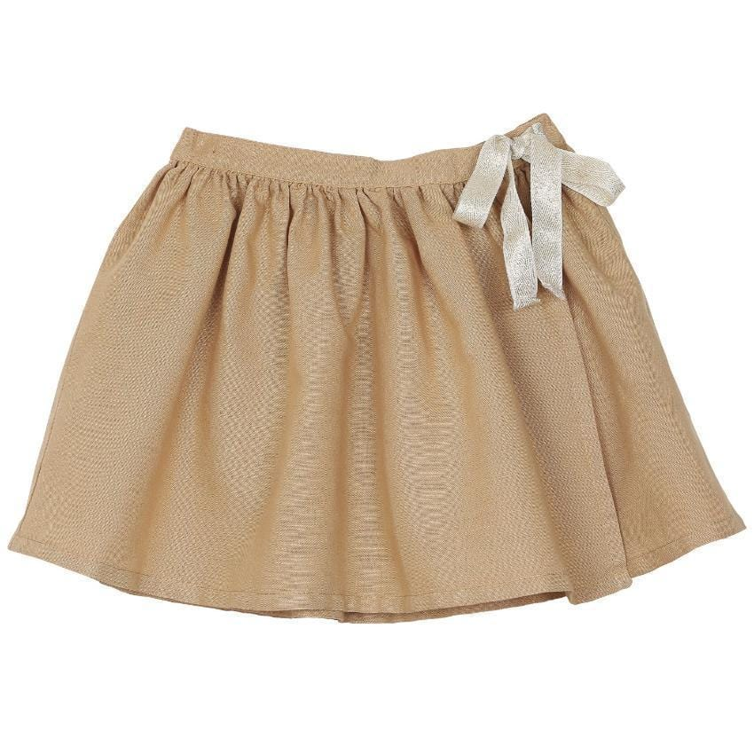 Emile et Ida Gold Ribbon Skirt  JellyBeanz Kids