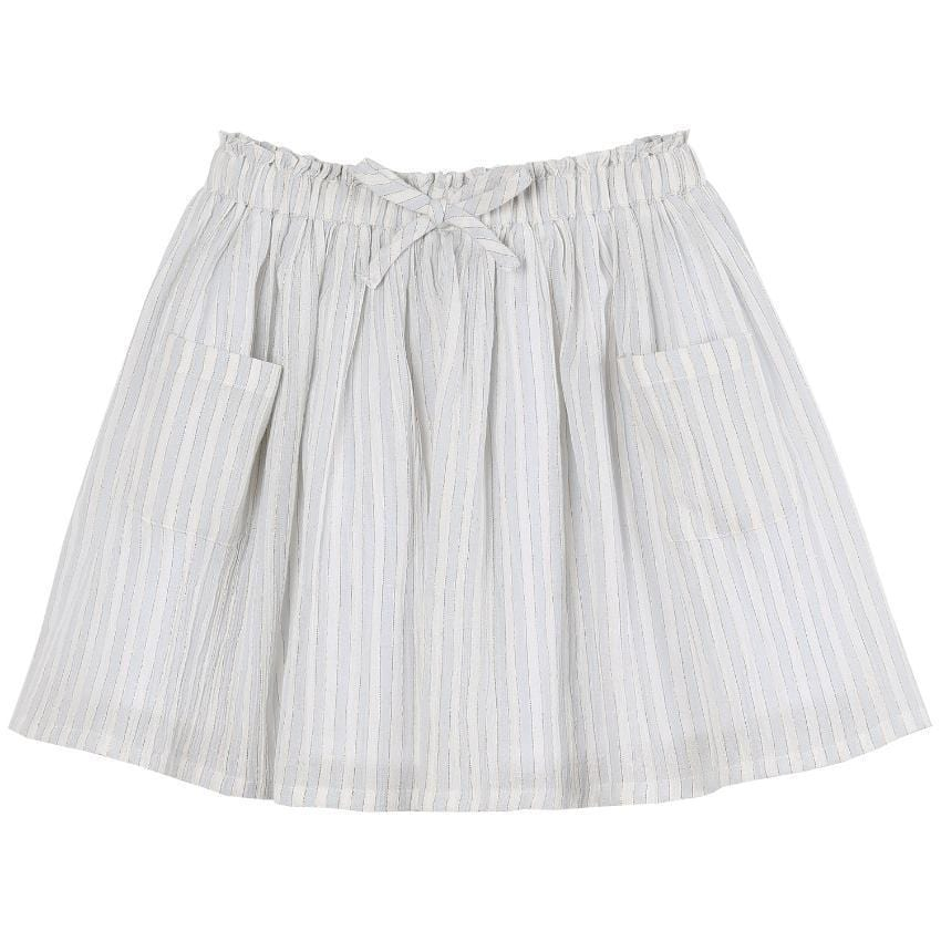 Emile et Ida Lurex Stripe Skirt  JellyBeanz Kids