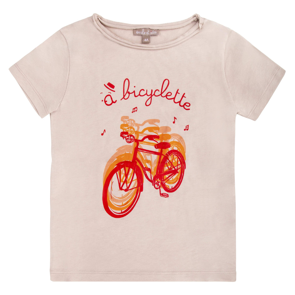 Emile et Ida Emile Et Ida Bicycle Tee  JellyBeanz Kids