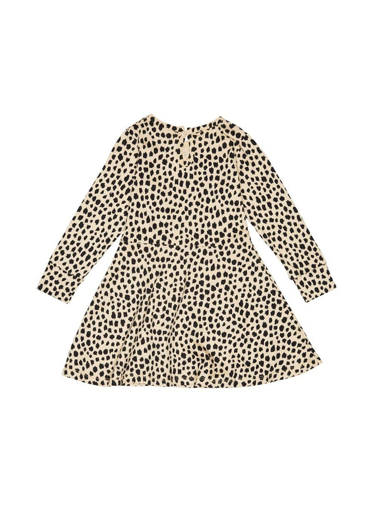 Huxbaby Leopard Skater Dress  JellyBeanz Kids