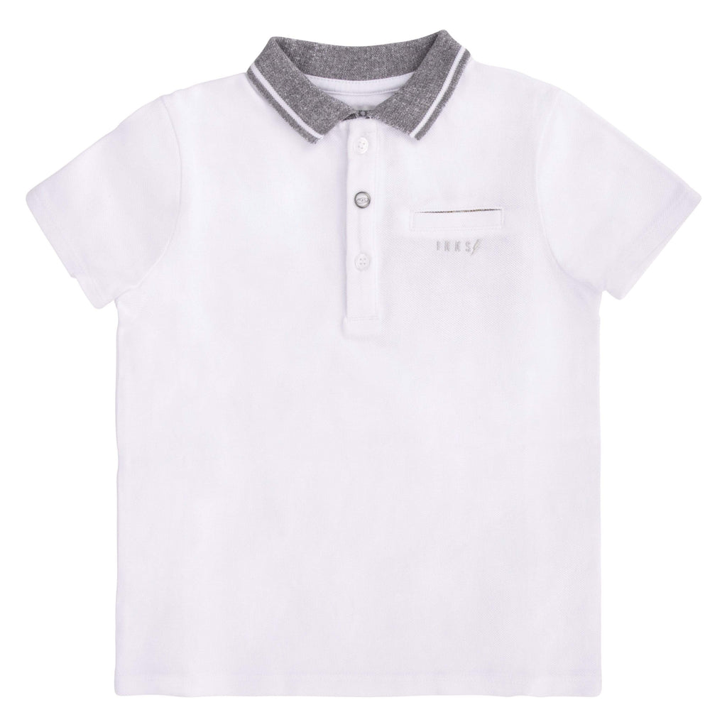 IKKS IKKS Grey Collar Polo  JellyBeanz Kids