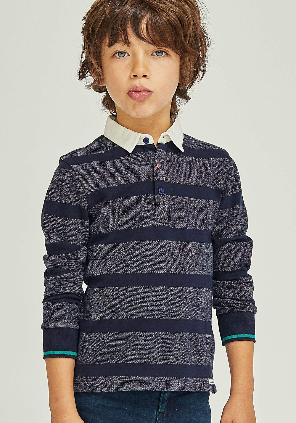 IKKS IKKS Striped Polo  JellyBeanz Kids