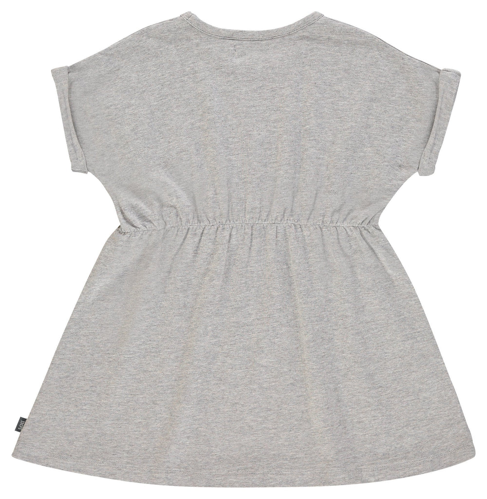 Imps & Elfs Gray Biscuit Dress  JellyBeanz Kids