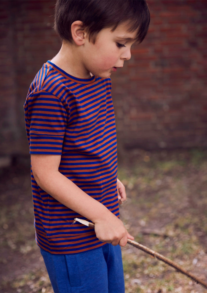 Kidscase T-shirt Jellybeanzkids Striped Tee