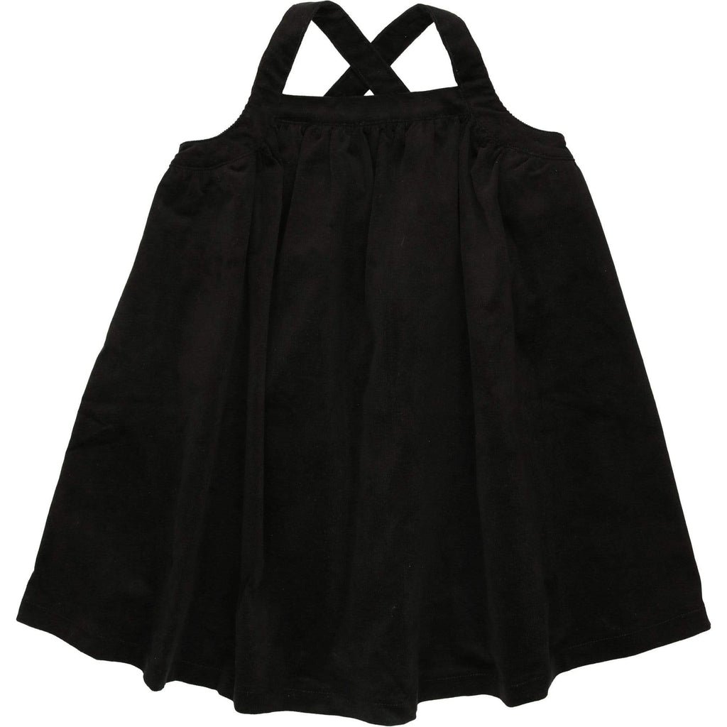 Kin+Kin Dress Jellybeanzkids Kin+Kin Black Pinafore Dress