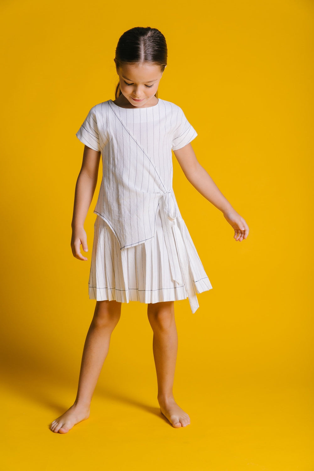Kipp Pinstripe Dress  JellyBeanz Kids