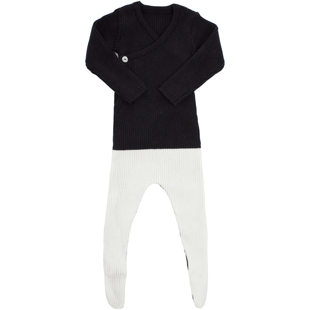 Kipp Footie Jellybeanzkids Kipp Colorblock Knit Wrap Footie