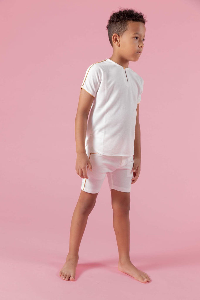 Kipp Kipp Piped Sleeve Shirt  JellyBeanz Kids