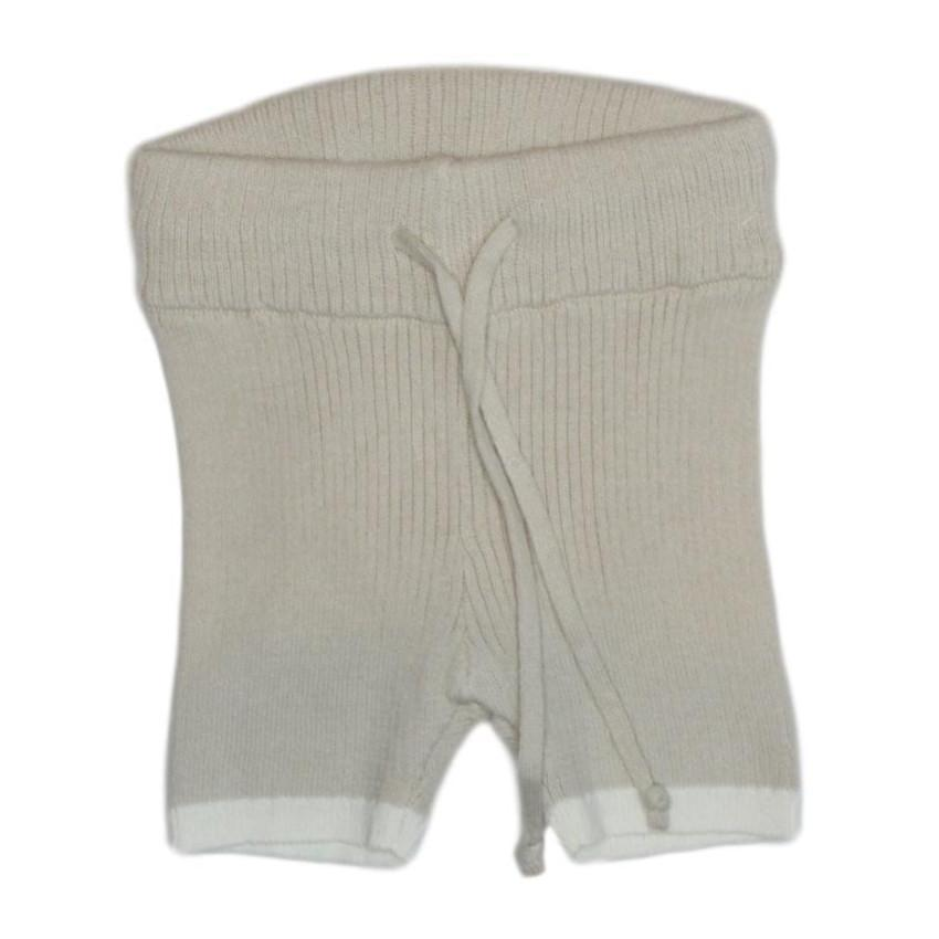 Kipp shorts Jellybeanzkids Stone Ribbed Knit Shorts