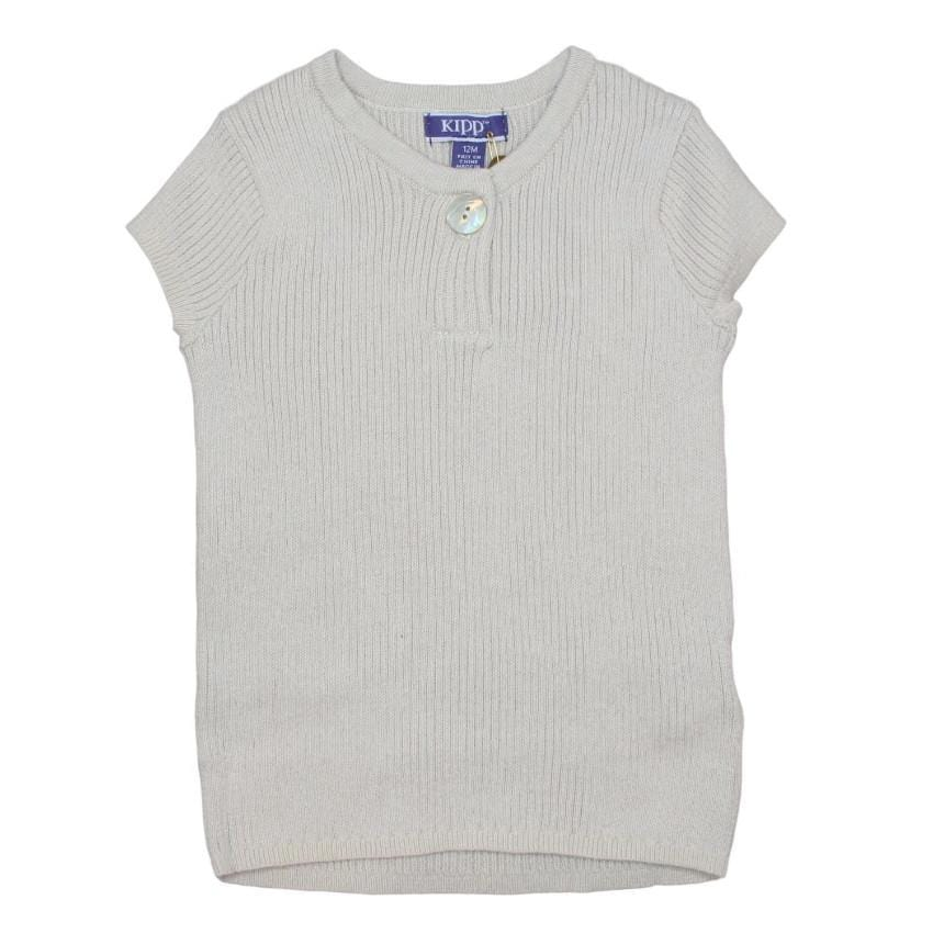 Kipp Stone Ribbed Knit Top  JellyBeanz Kids
