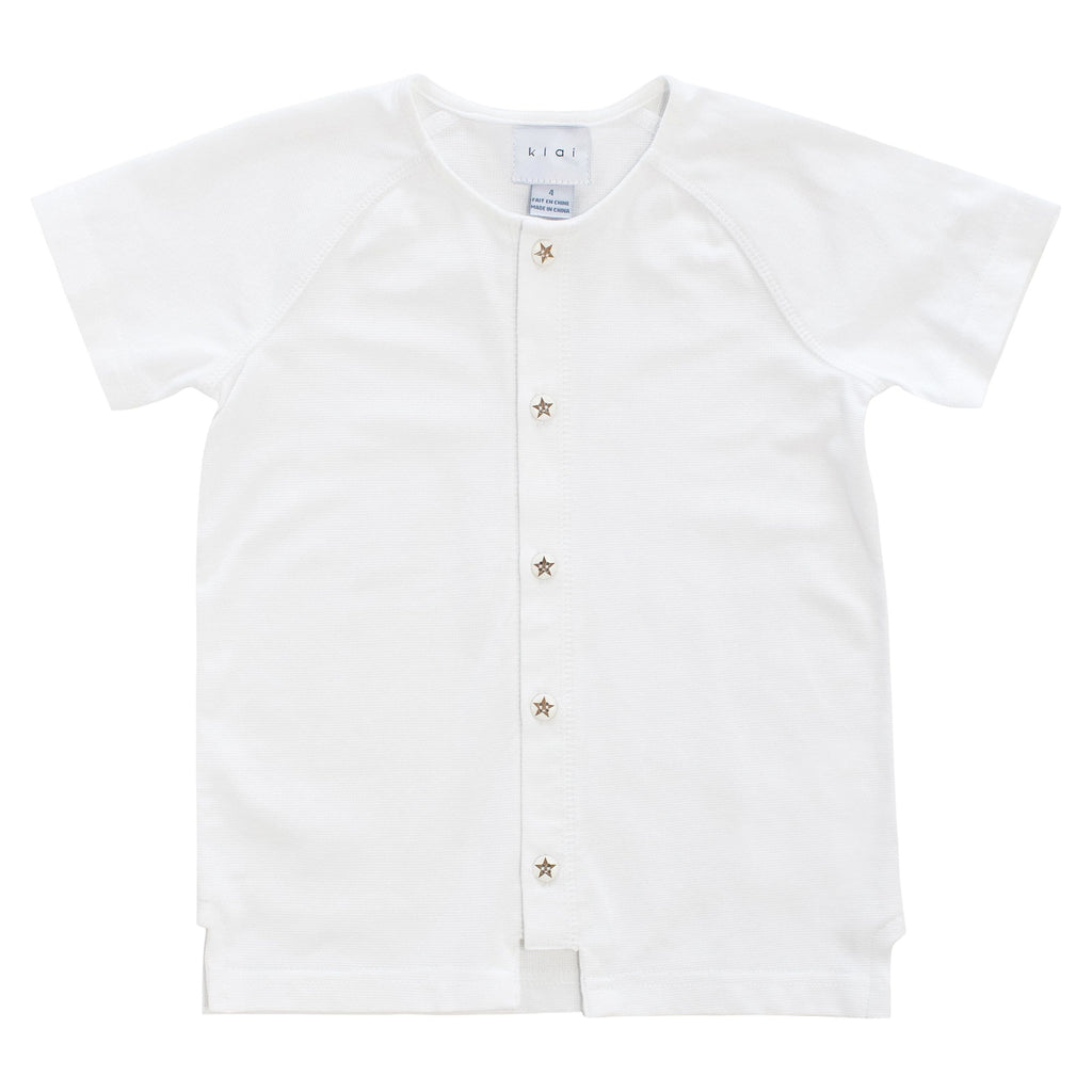 Klai Sweater Jellybeanzkids Klai Button Down Top