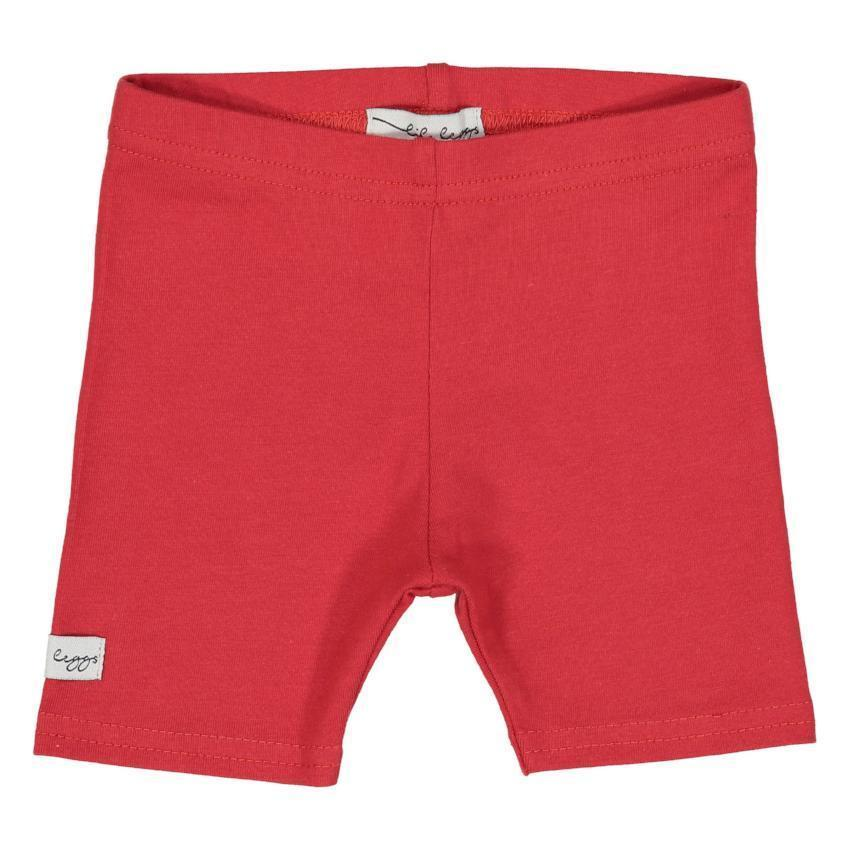 Lil Legs Leggings Jellybeanzkids Red Short Leggings