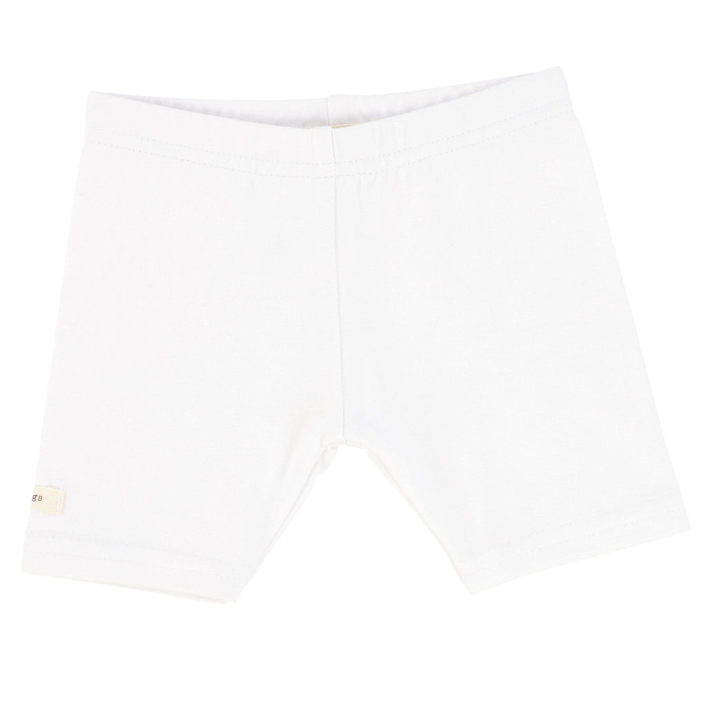 Lil Legs White Short Leggings - JellyBeanz Kids