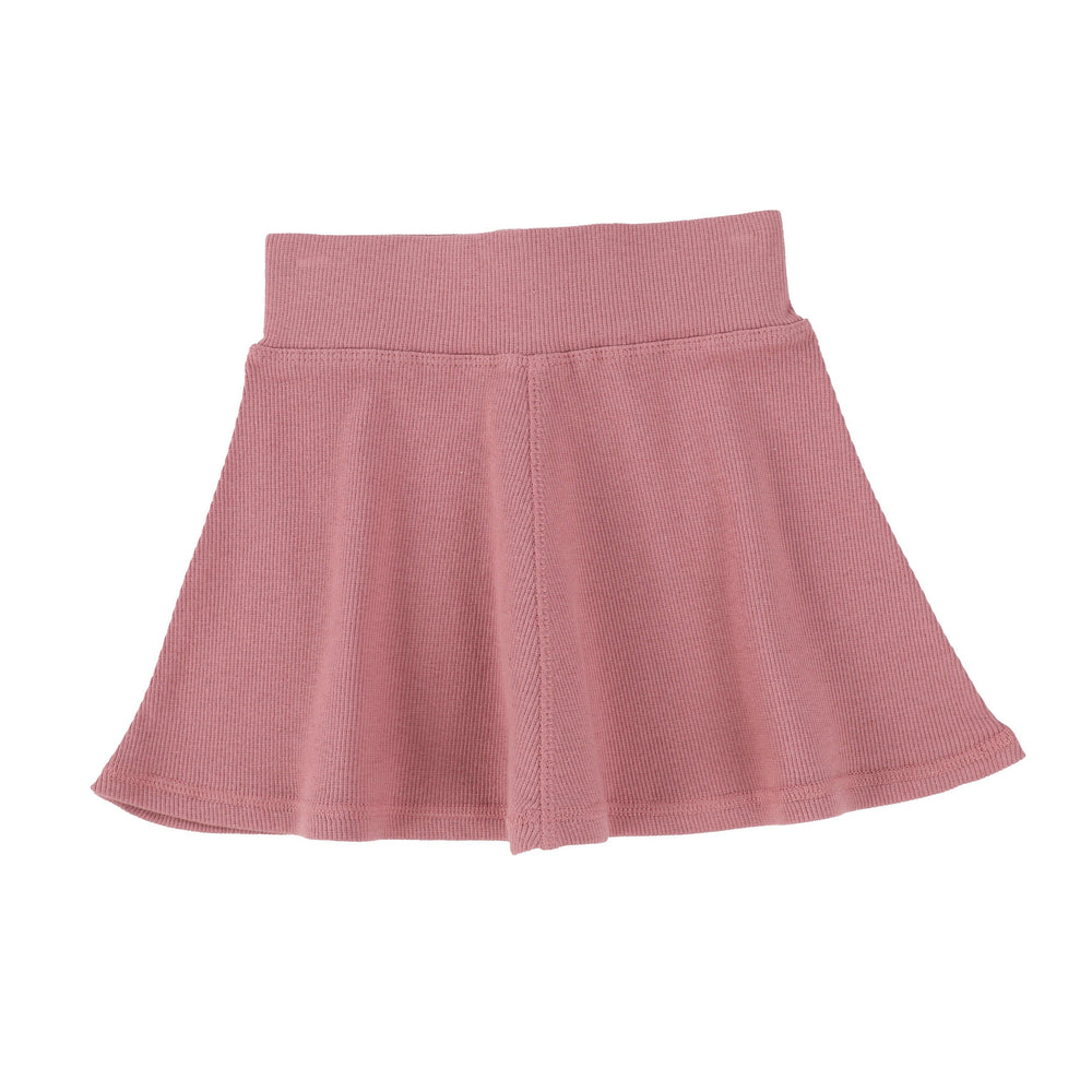 Lil Legs Skirt Jellybeanzkids Lil Legs Blush Ribbed Skirt