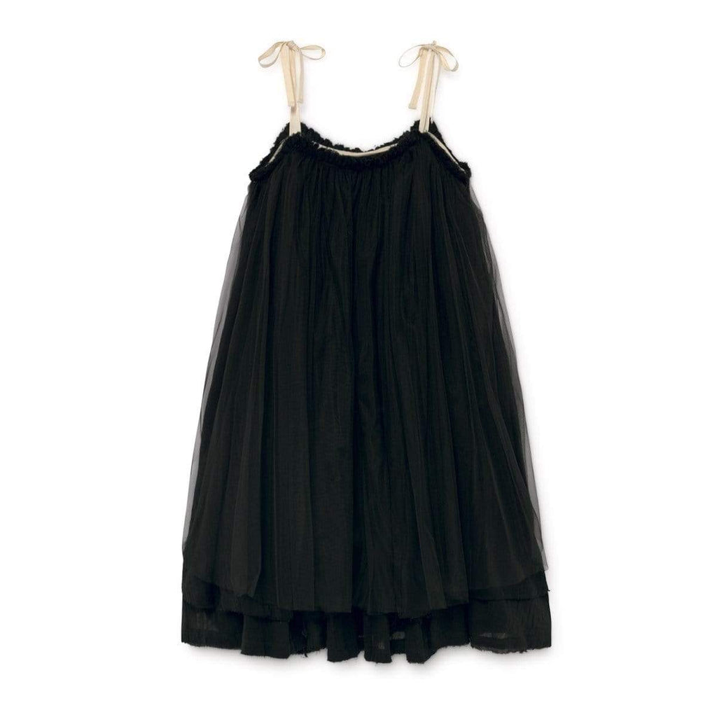 Little Creative Factory Little Creative Factory Muslin Black Dress  JellyBeanz Kids